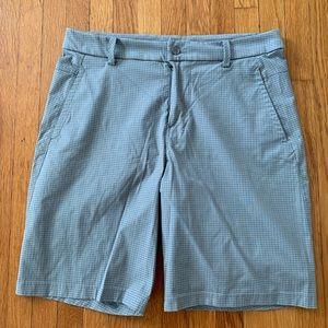Lululemon shorts 34 gray with black SWEET!